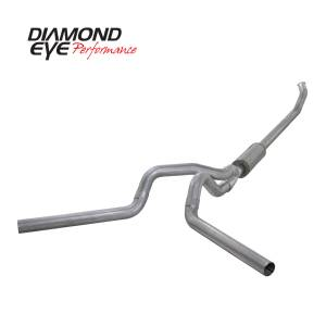 Exhaust - Exhaust Systems - Diamond Eye Performance - Diamond Eye Performance 2003-2004.5 DODGE 5.9L CUMMINS 2500/3500 (ALL CAB AND BED LENGTHS)-4in. ALUMINIZ K4220A