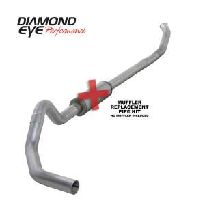 Exhaust - Exhaust Systems - Diamond Eye Performance - Diamond Eye Performance 2004.5-2007.5 DODGE 5.9L CUMMINS 2500/3500 (ALL CAB AND BED LENGTHS)-4in. ALUMIN K4232A-RP