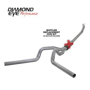 Exhaust - Exhaust Systems - Diamond Eye Performance - Diamond Eye Performance 2004.5-2007.5 DODGE 5.9L CUMMINS 2500/3500 (ALL CAB AND BED LENGTHS)-4in. ALUMIN K4233A-RP