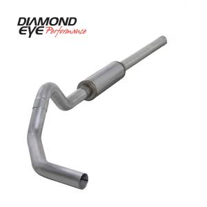 Exhaust - Exhaust Systems - Diamond Eye Performance - Diamond Eye Performance 2004.5-2007.5 DODGE 5.9L CUMMINS 2500/3500 (ALL CAB AND BED LENGTHS)-4in. ALUMIN K4234A