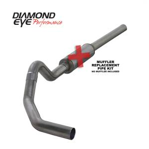 Exhaust - Exhaust Systems - Diamond Eye Performance - Diamond Eye Performance 2004.5-2007.5 DODGE 5.9L CUMMINS 2500/3500 (ALL CAB AND BED LENGTHS)-4in. 409 ST K4234S-RP
