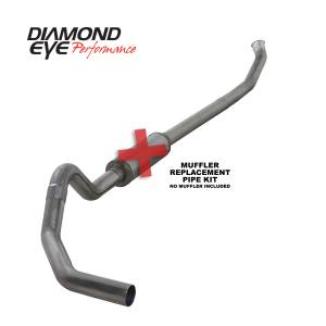 Exhaust - Exhaust Systems - Diamond Eye Performance - Diamond Eye Performance 2004.5-2007.5 DODGE 5.9L CUMMINS 2500/3500 (ALL CAB AND BED LENGTHS)-4in. 409 ST K4235S-RP