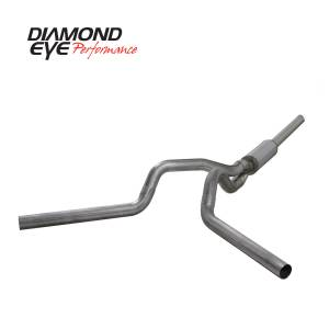 Exhaust - Exhaust Systems - Diamond Eye Performance - Diamond Eye Performance 2004.5-2007.5 DODGE 5.9L CUMMINS 2500/3500 (ALL CAB AND BED LENGTHS)-4in. 409 ST K4236S