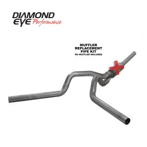Exhaust - Exhaust Systems - Diamond Eye Performance - Diamond Eye Performance 2004.5-2007.5 DODGE 5.9L CUMMINS 2500/3500 (ALL CAB AND BED LENGTHS)-4in. 409 ST K4236S-RP