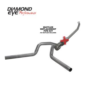 Exhaust - Exhaust Systems - Diamond Eye Performance - Diamond Eye Performance 2004.5-2007.5 DODGE 5.9L CUMMINS 2500/3500 (ALL CAB AND BED LENGTHS)-4in. 409 ST K4237S-RP