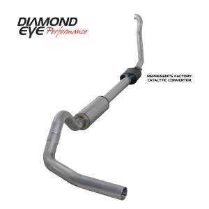 Exhaust - Exhaust Systems - Diamond Eye Performance - Diamond Eye Performance 1994-1997.5 FORD 7.3L POWERSTROKE F250/F350 (ALL CAB AND BED LENGTHS) 4in. ALUMI K4306A