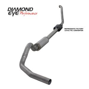Exhaust - Exhaust Systems - Diamond Eye Performance - Diamond Eye Performance 1994-1997.5 FORD 7.3L POWERSTROKE F250/F350 (ALL CAB AND BED LENGTHS) 4in. 409 S K4306S