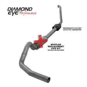 Diamond Eye Performance - Diamond Eye Performance 1994-1997.5 FORD 7.3L POWERSTROKE F250/F350 (ALL CAB AND BED LENGTHS) 4in. 409 S K4306S-RP