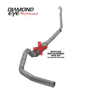 Exhaust - Exhaust Systems - Diamond Eye Performance - Diamond Eye Performance 1994-1997.5 FORD 7.3L POWERSTROKE F250/F350 (ALL CAB AND BED LENGTHS) 4in. ALUMI K4307A-RP