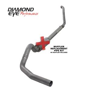 Exhaust - Exhaust Systems - Diamond Eye Performance - Diamond Eye Performance 1994-1997.5 FORD 7.3L POWERSTROKE F250/F350 (ALL CAB AND BED LENGTHS) 4in. 409 S K4307S-RP