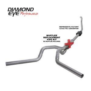 Exhaust - Exhaust Systems - Diamond Eye Performance - Diamond Eye Performance 1994-1997.5 FORD 7.3L POWERSTROKE F250/F350 (ALL CAB AND BED LENGTHS) 4in. ALUMI K4308A-RP