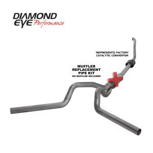 Exhaust - Exhaust Systems - Diamond Eye Performance - Diamond Eye Performance 1994-1997.5 FORD 7.3L POWERSTROKE F250/F350 (ALL CAB AND BED LENGTHS) 4in. 409 S K4308S-RP