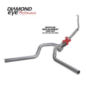 Exhaust - Exhaust Systems - Diamond Eye Performance - Diamond Eye Performance 1994-1997.5 FORD 7.3L POWERSTROKE F250/F350 (ALL CAB AND BED LENGTHS) 4in. ALUMI K4309A-RP