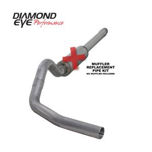 Exhaust - Exhaust Systems - Diamond Eye Performance - Diamond Eye Performance 1994-1997.5 FORD 7.3L POWERSTROKE F250/F350 (ALL CAB AND BED LENGTHS) 4in. ALUMI K4310A-RP