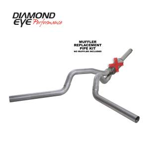 Exhaust - Exhaust Systems - Diamond Eye Performance - Diamond Eye Performance 1994-1997.5 FORD 7.3L POWERSTROKE F250/F350 (ALL CAB AND BED LENGTHS) 4in. ALUMI K4312A-RP
