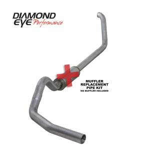 Exhaust - Exhaust Systems - Diamond Eye Performance - Diamond Eye Performance 1999-2003.5 FORD 7.3L POWERSTROKE F250/F350 (ALL CAB AND BED LENGTHS) 4in. ALUMI K4318A-RP