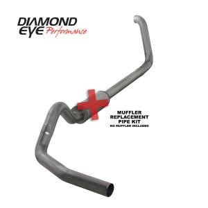Exhaust - Exhaust Systems - Diamond Eye Performance - Diamond Eye Performance 1999-2003.5 FORD 7.3L POWERSTROKE F250/F350 (ALL CAB AND BED LENGTHS) 4in. 409 S K4318S-RP