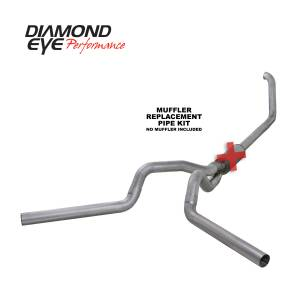 Exhaust - Exhaust Systems - Diamond Eye Performance - Diamond Eye Performance 1999-2003.5 FORD 7.3L POWERSTROKE F250/F350 (ALL CAB AND BED LENGTHS) 4in. ALUMI K4320A-RP