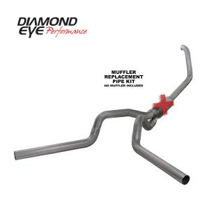 Exhaust - Exhaust Systems - Diamond Eye Performance - Diamond Eye Performance 1999-2003.5 FORD 7.3L POWERSTROKE F250/F350 (ALL CAB AND BED LENGTHS) 4in. 409 S K4320S-RP
