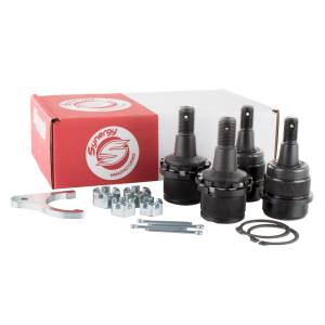 Synergy MFG - Synergy MFG Dodge Ram 03-13 HD Knurled Adjustable Ball Joint Kit 1500/2500/3500 4X4 Synergy MFG 4123KN