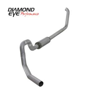 Exhaust - Exhaust Systems - Diamond Eye Performance - Diamond Eye Performance 1999.5-2003.5 FORD 7.3L POWERSTROKE F550 ROLLOVER-4in. ALUMINIZED-PERFORMANCE DI K4330A