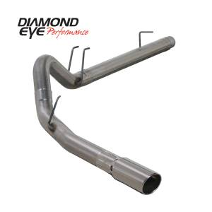 Exhaust - Exhaust Systems - Diamond Eye Performance - Diamond Eye Performance 2008-2010 FORD 6.4L POWERSTROKE F250/F350 (ALL CAB AND BED LENGTHS) 4in. 409 STA K4360S