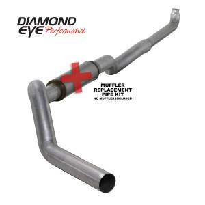 Exhaust - Exhaust Systems - Diamond Eye Performance - Diamond Eye Performance 2001-2007.5 CHEVY/GMC 6.6L DURAMAX 2500/3500 (ALL CAB AND BED LENGHTS) 5in. ALUM K5118A-RP
