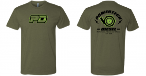 PD Gear - PowerTech Diesel - PowerTech PD FLAG AND TURBO OD/LIME