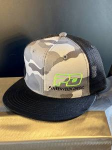 Gear & Apparel - Hats - PowerTech Diesel - PowerTech Diesel Flat Bill snap back CAMO
