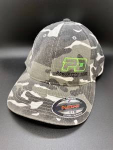 Gear & Apparel - Hats - PowerTech Diesel - PowerTech Diesel Flex Fit Hat faded CAMO