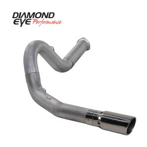 Exhaust - Exhaust Systems - Diamond Eye Performance - Diamond Eye Performance 2007.5-2010 CHEVY/GMC 6.6L DURAMAX 2500/3500 (ALL CAB AND BED LENGHTS) 5in. ALUM K5134A