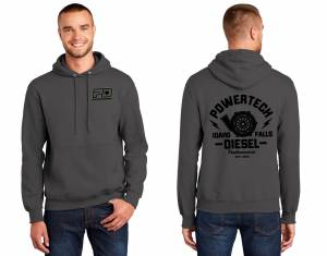PD Gear - PowerTech Diesel - PD Hoodie 9oz Dark Grey
