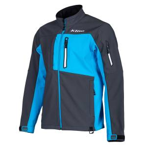 Gear & Apparel - Shirts - PowerTech Diesel - KLIM Inversion Jacket  ASPHALT - VIVID BLUE