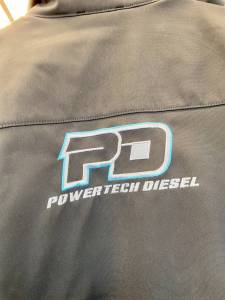 PowerTech Diesel - KLIM Inversion Jacket  ASPHALT - VIVID BLUE - Image 2