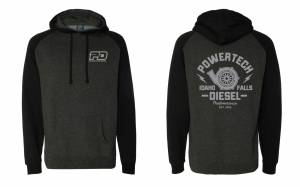 PD Gear - PowerTech Diesel - PD Independent BLK/GREY sweatshirt OG
