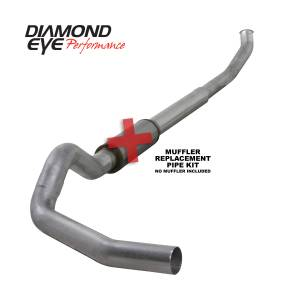 Exhaust - Exhaust Systems - Diamond Eye Performance - Diamond Eye Performance 2003-2004.5 DODGE 5.9L CUMMINS 2500/3500 (ALL CAB AND BED LENGTHS)-5in. ALUMINIZ K5222A-RP