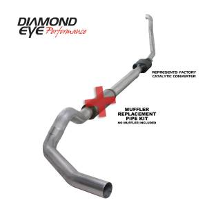 Exhaust - Exhaust Systems - Diamond Eye Performance - Diamond Eye Performance 1994-1997.5 FORD 7.3L POWERSTROKE F250/F350 (ALL CAB AND BED LENGTHS) 5in. ALUMI K5314A-RP
