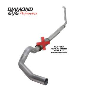 Exhaust - Exhaust Systems - Diamond Eye Performance - Diamond Eye Performance 1994-1997.5 FORD 7.3L POWERSTROKE F250/F350 (ALL CAB AND BED LENGTHS) 5in. ALUMI K5315A-RP