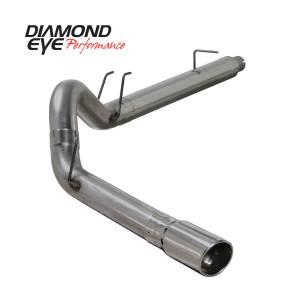 Exhaust - Exhaust Systems - Diamond Eye Performance - Diamond Eye Performance 2008-2010 FORD 6.4L POWERSTROKE F250/F350 (ALL CAB AND BED LENGTHS) 5in. 409 STA K5364S