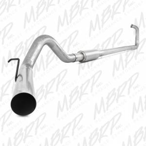 Exhaust - Exhaust Systems - MBRP Exhaust - MBRP 2003-2007 Powerstroke Turbo Back Exhaust System (Off-Road)