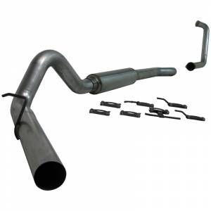 Exhaust - Exhaust Systems - MBRP Exhaust - MBRP 2003-2007 Powerstroke Turbo Back Exhaust Systems (Street)