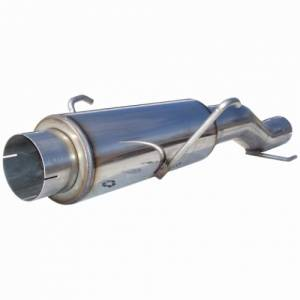 Exhaust - Mufflers - MBRP Exhaust - MBRP 2004.5-2005 Cummins High-Flow Stainless Steel Stock Muffler Replacement MK96116