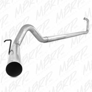 Exhaust - Exhaust Systems - MBRP Exhaust - MBRP 2003-2007 Powerstroke Turbo Back Off-Road Exhaust Systems Without Mufflers