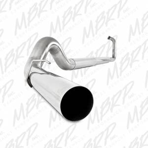 MBRP Exhaust - MBRP 2003-2007 Powerstroke Turbo Back Off-Road Exhaust Systems Without Mufflers - Image 4