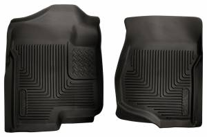 Husky Liners - Husky Liners 2007-2014 Silverado|Sierra X-act Contour Front Floor Liners | 53101 - Image 1