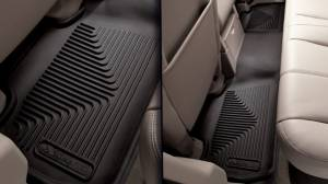 Husky Liners - Husky Liners 2007-2014 Silverado|Sierra X-act Contour Rear Floor Liners | 53201 - Image 2
