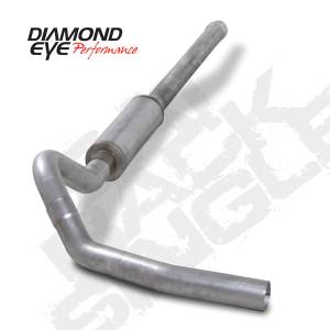 Diamond Eye Performance - Diamond Eye 2006-2007 Duramax Cat Back Exhaust Systems