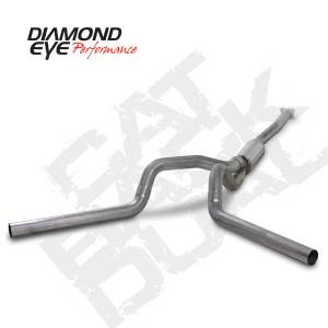 Diamond Eye Performance - Diamond Eye 2001-2005 Duramax Cat Back Dual Exhaust Systems