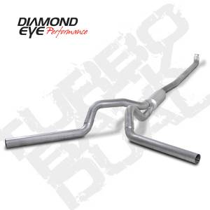 Diamond Eye Performance - Diamond Eye 2001-2007 Duramax Turbo Back Dual Exhaust Systems