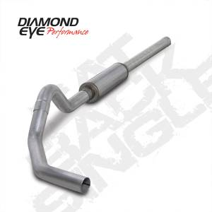 Diamond Eye Performance - Diamond Eye 2004-2007 Cummins Cat Back Exhaust